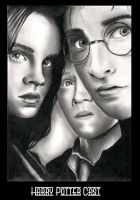 Harry Potter Cast by Dutch-Carmen