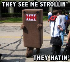 Domo strollin, they hatin ACEN by Cory-Hate