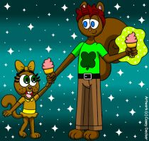 Lucas McSquirrely's Magic Treat by CaseyDecker