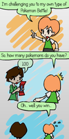 Pokedex battle by Mythical-Human