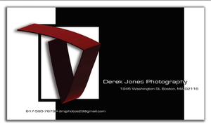 Derek Jones Photography logo/business card by TestingPointDesign