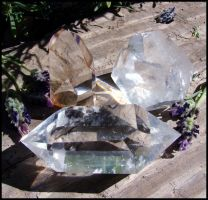 Quartz Crystal by andromeda