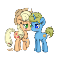 Apple Jack and Cookie Joe by FinnishGirl97
