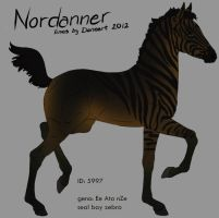 5997 Nordanner Foal design holder by saphiraly