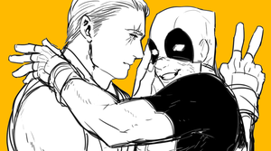 Deadpool and Cable! by gami91