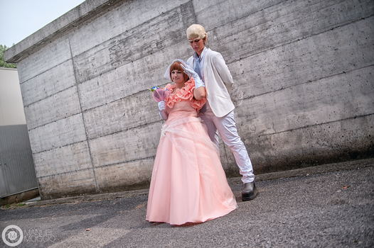 Wedding IraMako : Gamagori and Mako Cosplay by FlamesOfOblivion