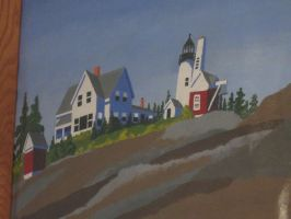166 light house painting by crazygardener