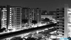 BW: From my Window by munchinees