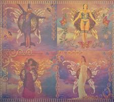 Four Muses by lisamarimer