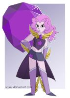 Crystal Gem - Amethyst by SeiAni