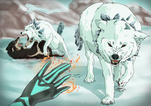 Link's Blacklist IV: White Wolfos by zelda-Freak91