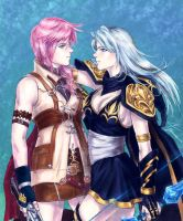 Lightning Ashe 'Flashes and Frost' by Yosane