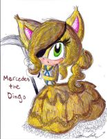 Request: Mercedes the Dingo by Lilymint7