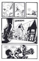Black Hitler and the Geriatric Werewolves Page 15! by michaelharris