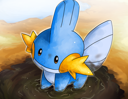 Mudkip by nintendo-jr