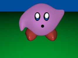 3D Kirby by Etrocal