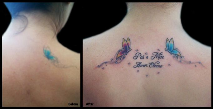 Tattoo renew with a plus... by EdilsonR74