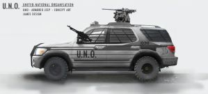 |ARMORED JEEP| by jamesdesign1