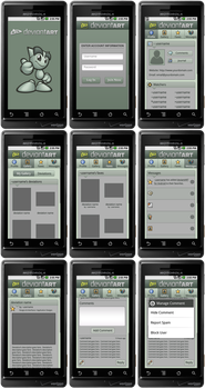 deviantART for Android by kahil