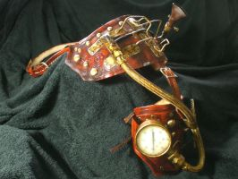 Steampunk half arm1 by Skinz-N-Hydez