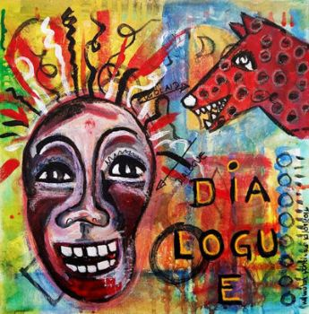 Dialogue Between Red Dawg and Wild Woman Self by mimulux