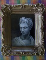 Marble Bust Miniature by johannachambers
