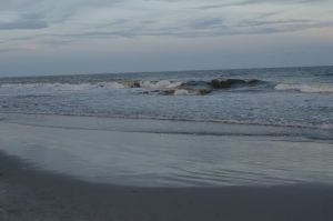 Beach at Dusk1(stock)6August 21, 2013 by RustedScrapMetal
