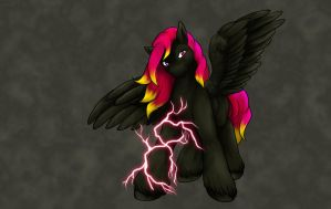 Sparks Wallpaper by ClemiKinkajou