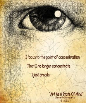 Art As A State Of Mind by kscreations