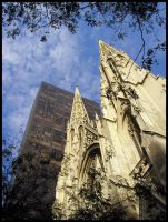 NYC - St Patricks Cathedral by freezejeans