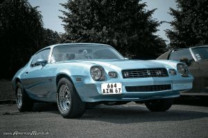 light blue camaro by AmericanMuscle