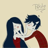 Marceline Y Marshall Lee by PabloCampoya