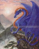 Eurus-Dragon of the East Wind by BlondeWitch