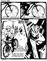 bicycle thief: page 1 by doctajules
