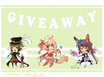 .:GIVEAWAY:. [WINNERS ANNOUNCED] Kemonomimi set 2 by Me2Unique