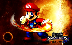 Super Smash Bros. Wii U / 3DS - Mario by Legend-tony980