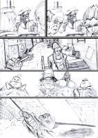 BATMAN ARKHAM CITY (cut and run) page 3 by andrew-henry