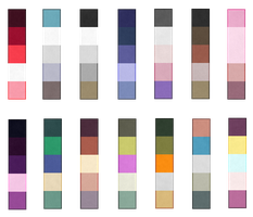 Palette Adopts -2 Left!- (REDUCED PRICE) by BananaBread9112