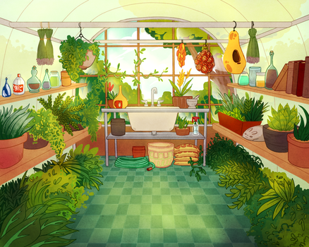 The Greenhouse by 1000th