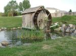 Stock. Water wheel by taggathias