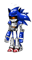 mecha sonic by supermarioguy