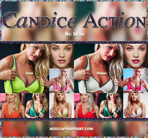 Candice Action. by Mjzo
