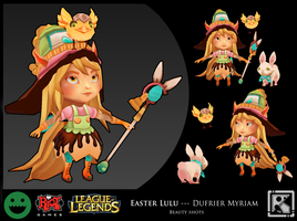 Easter Lulu_Beauty Shots_Riot Art contest by MimiLeChampi