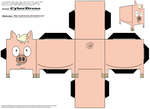 Cubee - Spider-Pig by CyberDrone