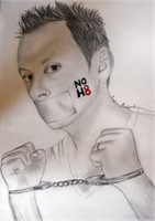 Michael emerson NOH8 by injirika