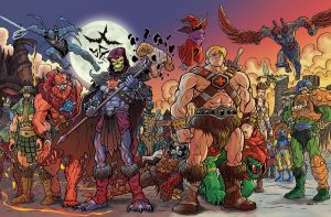 Masters of the Universe by n3gative-0