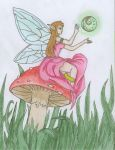 Flower Faerie by LittlestAngelArtist