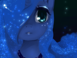 .:princess luna by MarinaKirby