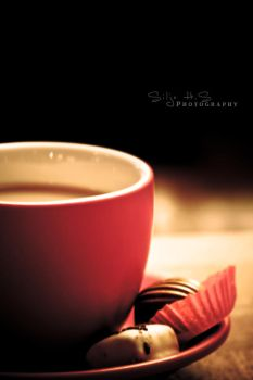 A cup of coffee by shhilja