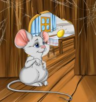 Mouse by ChepAlina
